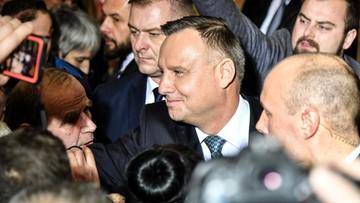 """""""Jest grupa sędziów, która zapomniała, jaka jest ich rola"""". Andrzej Duda w Opolu Lubelskim"""