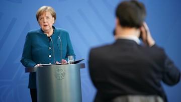 Angela Merkel zaczyna kwarantannę. Miała kontakt z koronawirusem
