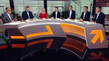 """""""Przyzwoitość sędziów jest silniejsza od buta Kaczyńskiego"""". Spór o sądy w """"Śniadaniu w Polsat News"""""""