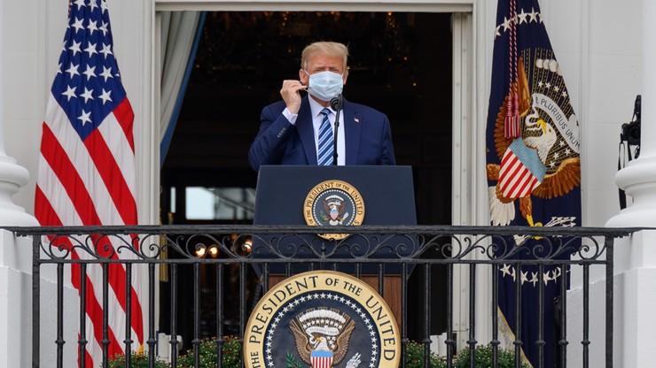 Donald Trump: lekarze stwierdzili, że nie mam już Covid-19