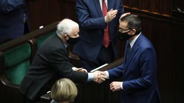 """Premier o swoim wystąpieniu w Sejmie. """"Była taka konieczność"""""""
