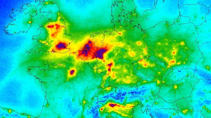 Polska Najbardziej Skazona W Europie Nowa Mapa Smogowa Ujawnia