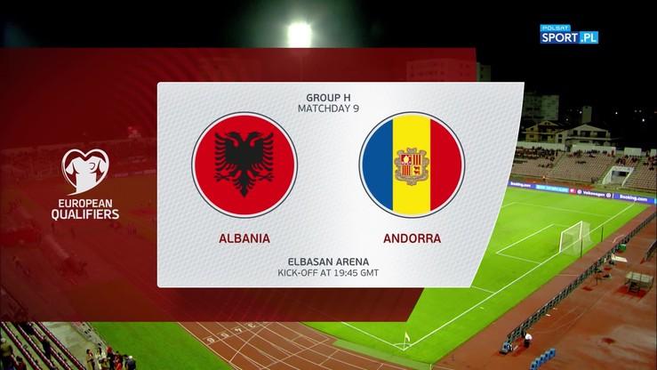 Albania - Andora 2:2. Skrót meczu