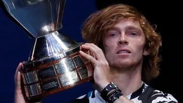 ATP w Sankt Petersburgu: Czwarty w sezonie triumf Rublowa