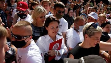 Ostatnia prosta przed wyborami na Białorusi. Opozycja apeluje ws. głosowania