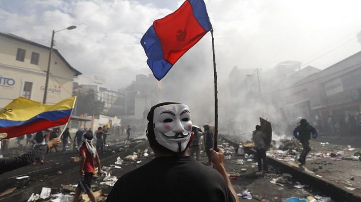 Benzyna podrożała o 123 proc., więc wyszli na ulice. Stan wyjątkowy w Ekwadorze