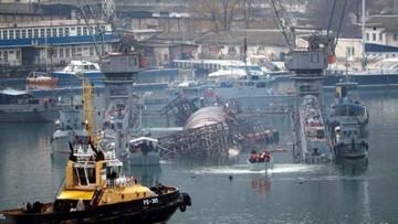 Na Krymie zatonął dok z rosyjskim okrętem podwodnym