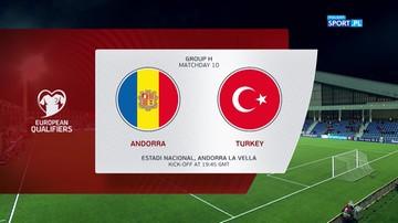 Andora – Turcja 0:2. Skrót meczu