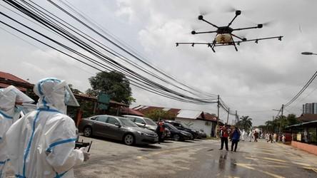 Stany Zjednoczone rozpoczęły testy dronów do wykrywania infekcji CoVID-19