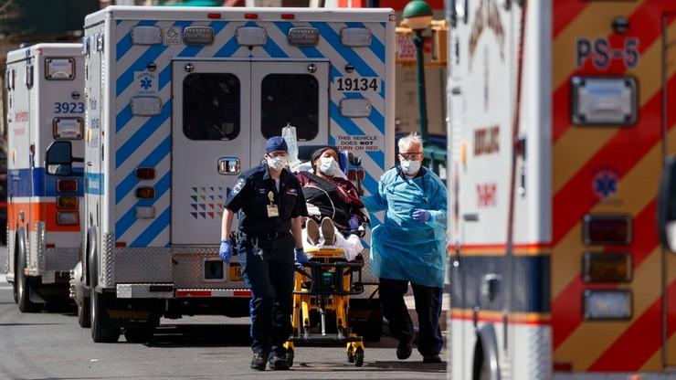 Ponad 10 tys. ofiar koronawirusa w USA. Prawie połowa w Nowym Jorku