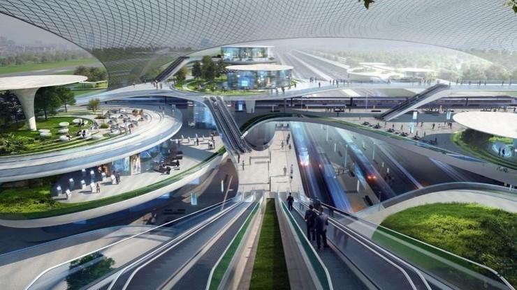 1800 km linii kolejowych, 400 km dróg i lotnisko przyszłości. Wszystko o CPK