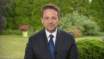 """""""Będę twardo bronił wszystkich atakowanych"""". Rafał Trzaskowski w """"Gościu Wydarzeń"""""""