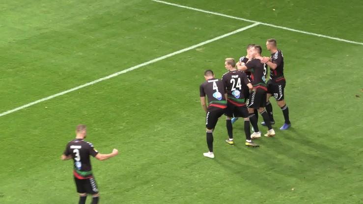 GKS Tychy - Stomil Olsztyn 1:0. Gol Mańki