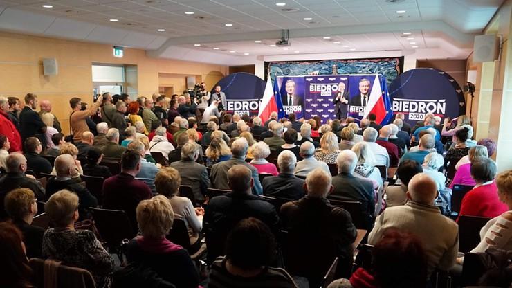 """Biedroń: wybierzmy prezydenta, który będzie reagował na """"strefy wolne od LGBT"""""""