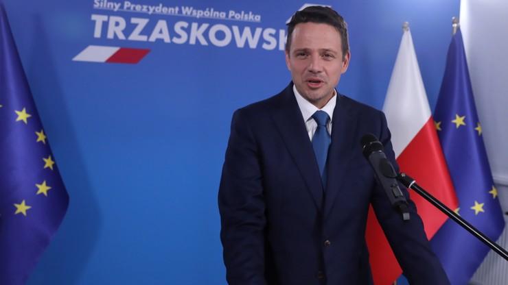 Trzaskowski o swojej kancelarii. Pracownicy będą musieli złożyć legitymacje partyjne