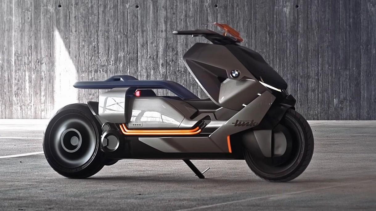 BMW pokazało swój futurystyczny, elektryczny skuter rodem z Cyberpunka [FILM]