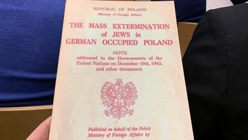 """Polskie ambasady rozpowszechnią broszury ws. Holokaustu. """"By odkłamać prawdę historyczną"""""""