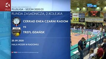 Cerrad Enea Czarni Radom - Trefl Gdańsk 0:3. Skrót meczu