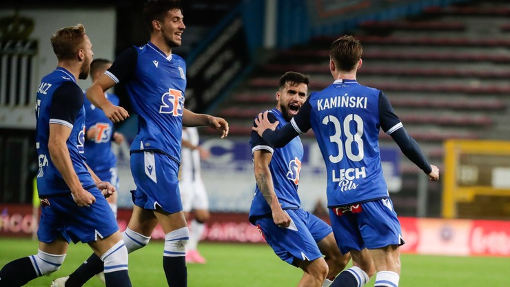 Liga Europy: Lech zagra w grupie z Benfiką, Standardem Liege i Rangers F.C.