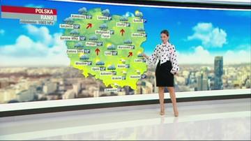Prognoza pogody - środa, 21 października - rano