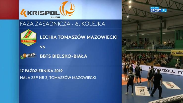 Lechia Tomaszów Mazowiecki - BBTS Bielsko-Biała 3:1. Skrót meczu