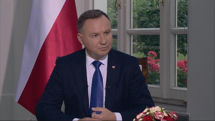 """Andrzej Duda odwiedzi Ukrainę """"jeszcze w tym roku"""""""