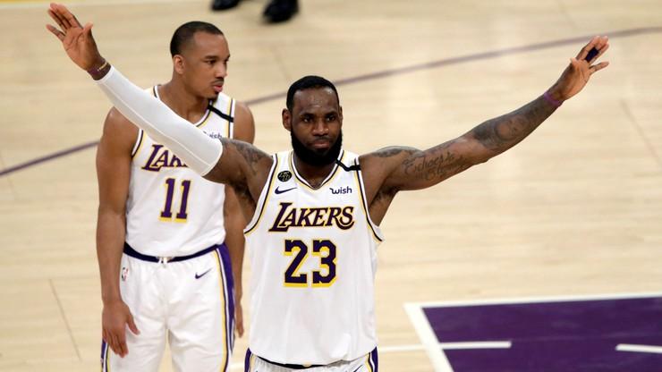 """NBA: """"Jeziorowcy"""" wygrali z """"Kozłami"""" i awansowali do play off"""