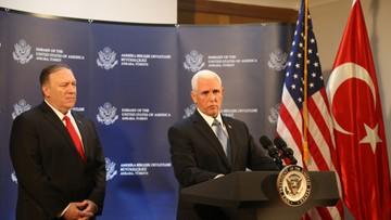 Wiceprezydent USA: Turcja zgodziła się na zawieszenie broni w Syrii