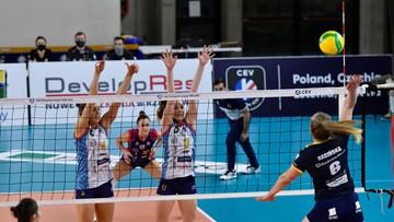 Siatkarki Developresu bez zwycięstwa w pierwszym turnieju Ligi Mistrzyń