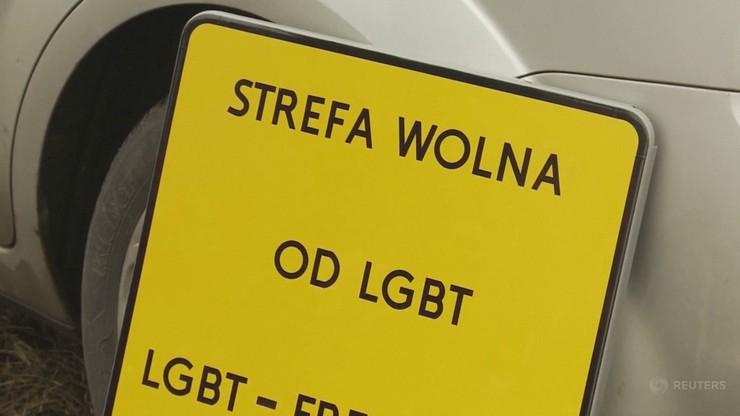 Francuzi zawieszają współpracę z polską gminą. Z powodu uchwały o LGBT