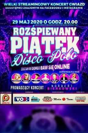 2020-05-19 29 maja największe gwiazdy disco polo zagrają online! - Polo TV