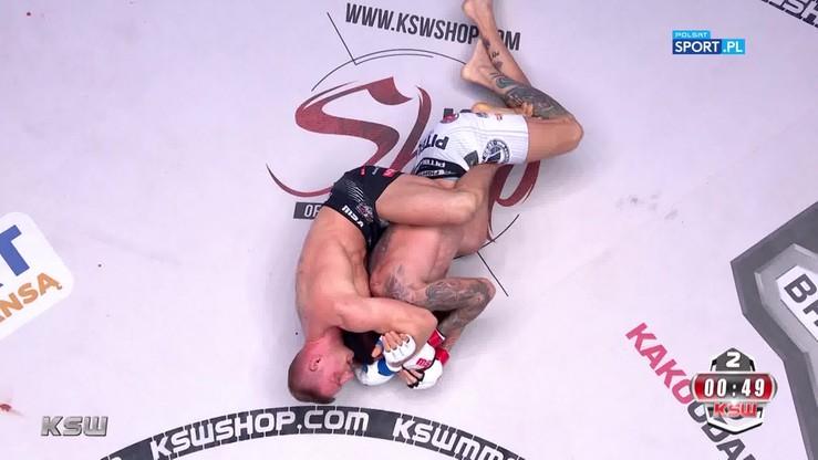 2019-11-09 Cezary Kęsik - Aleksandar Ilic. Skrót walki