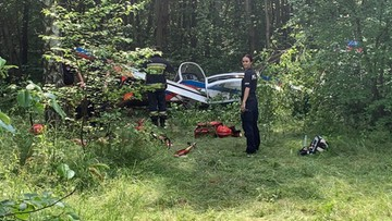 Samolot spadł na Bemowie w Warszawie. Są poszkodowani [WIDEO]