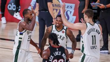 NBA: Kontuzja Antetokoumpo. Bucks i Lakers ze zwycięstwami