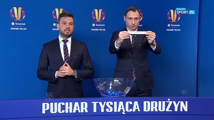 Losowanie par 1/4 finału Totolotek Pucharu Polski