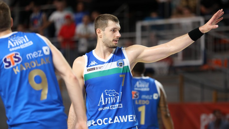Energa Basket Liga: Anwil Włocławek - King Szczecin. Transmisja w Polsacie Sport Extra