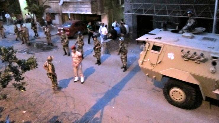 Egipskie wojsko udaremniło atak terrorystyczny. Zginęło 20 osób