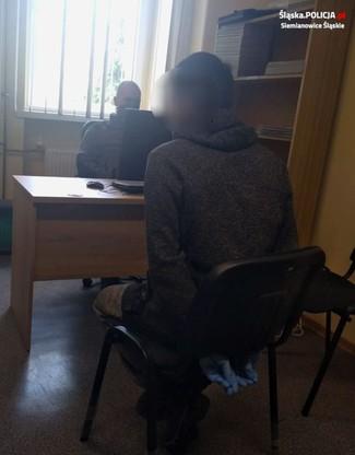 Jedna z zatrzymanych osób