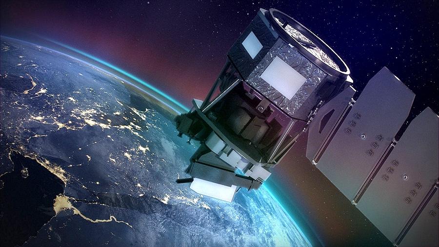 Artystyczna wizja sony ICON należącej do NASA. Fot. NASA.