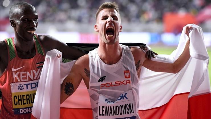 MŚ Doha 2019: Lewandowski zdobył brąz w biegu na 1500 metrów