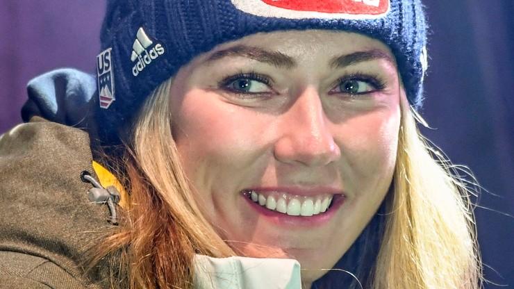 Alpejski PŚ: Shiffrin nie przywiązuje wagi do rekordów
