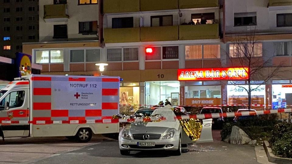 Do strzelanin doszło w dwóch barach w Hanau