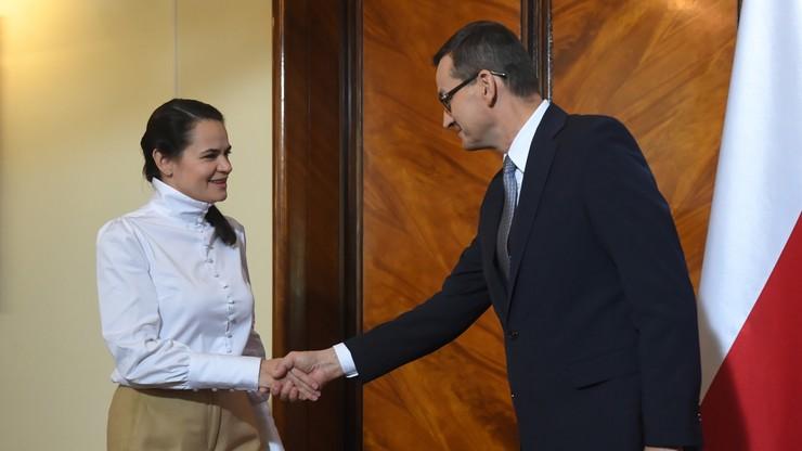 Wparcie dla Białorusi. Premier uruchomił nowy program