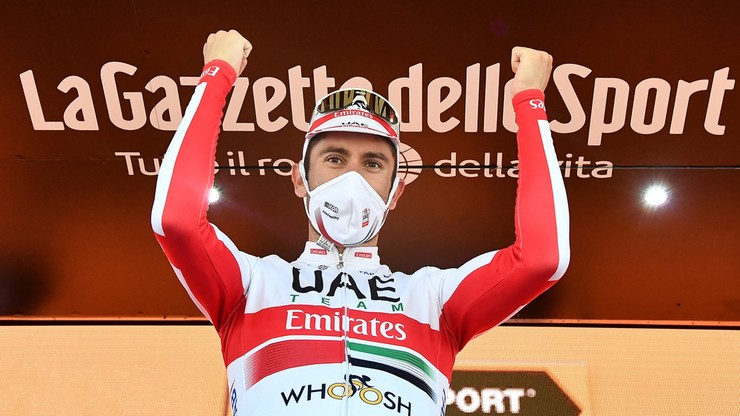 Giro d'Italia: Ulissi wygrał etap, Almeida powiększa przewagę