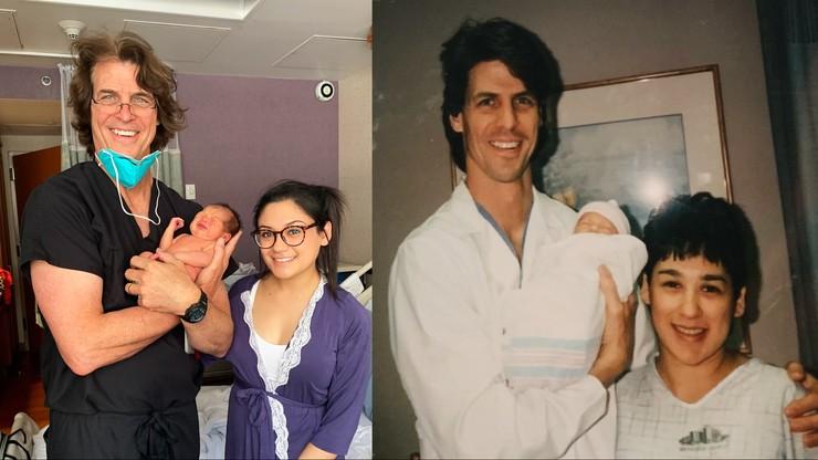 25 lat później: dwa porody, ten sam lekarz
