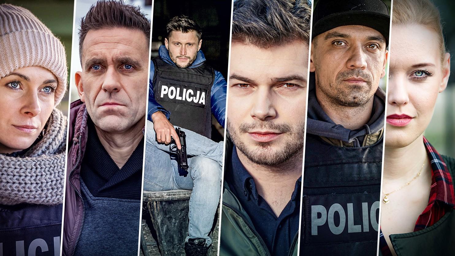 """Kto jest kim w serialu """"Gliniarze""""? Poznaj bohaterów - Polsat.pl"""