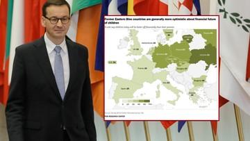 """""""57 proc. Polaków uważa, że ich dzieciom będzie żyło się dostatniej"""". Premier przytacza wyniki badań"""