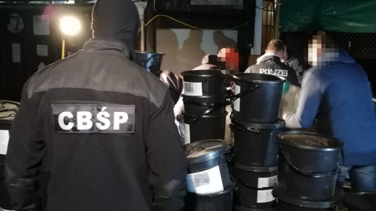 CBŚP wraz z niemiecką policją rozbiło grupę handlarzy narkotyków