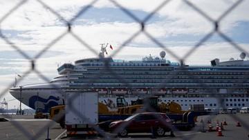 Ponad 200 osób zakażonych koronawirusem na Diamond Princess. Na pokładzie są Polacy
