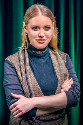 2019-11-20 Ewelina Ruckgaber w Studio IPLA o romansie z...